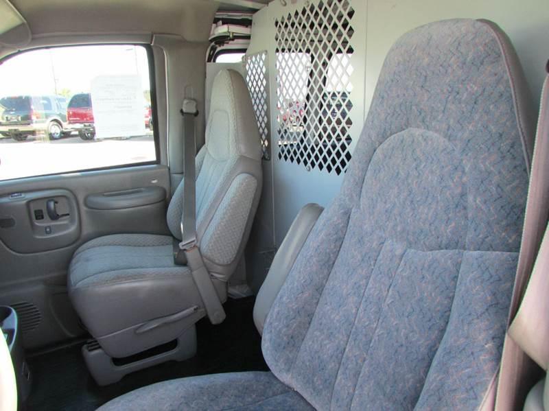 1999 GMC Savana Cargo 3dr G1500 Cargo Van - Modesto CA