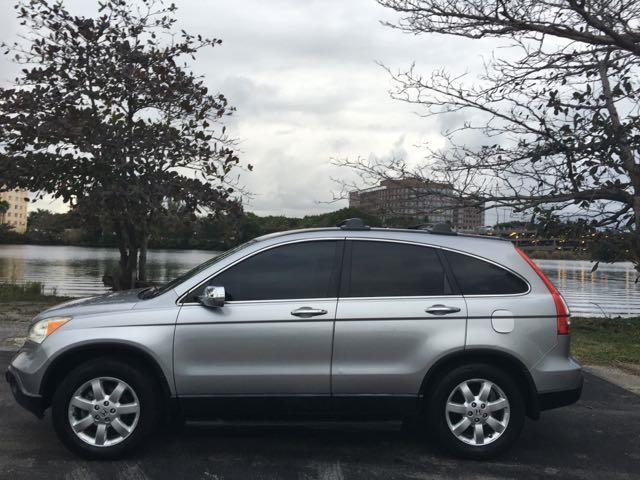 2007 HONDA CR-V EX 4DR SUV silver loaded power package  sunroof great on gas  all credit