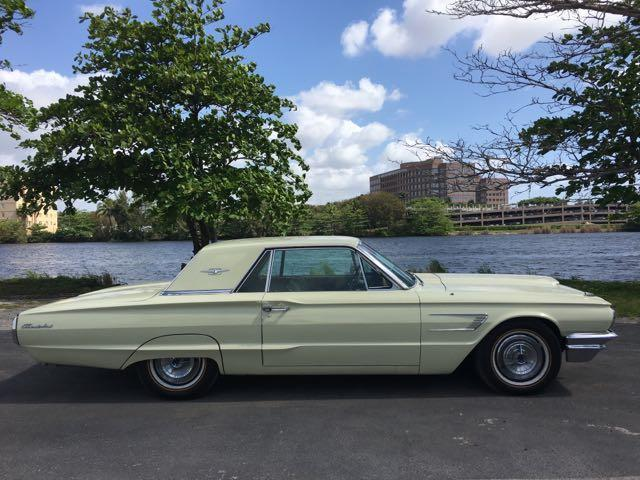 1965 FORD THUNDERBIRD COUPE met yellow miami auto wholesale is a family owned and operated deale
