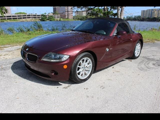 2005 BMW Z4 25I 2DR ROADSTER maroone used cars  bmw z4  financing available miami auto w
