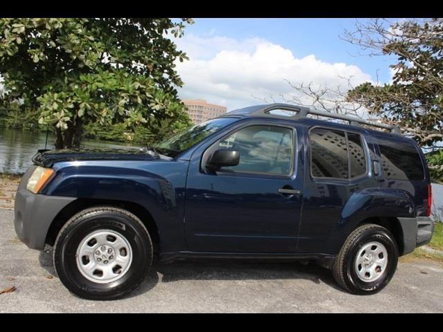 2008 NISSAN XTERRA X 4X2 4DR SUV 5A blue miami auto wholesale is a family owned and operated deal