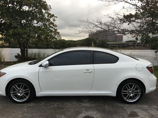 2008 SCION TC SPEC 2DR HATCHBACK 4A white miami auto wholesale is a family owned and operated dea