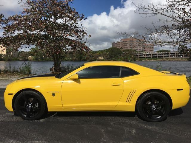 2010 CHEVROLET CAMARO LT 2DR COUPE W2LT yellow miami auto wholesale is a family owned and operat