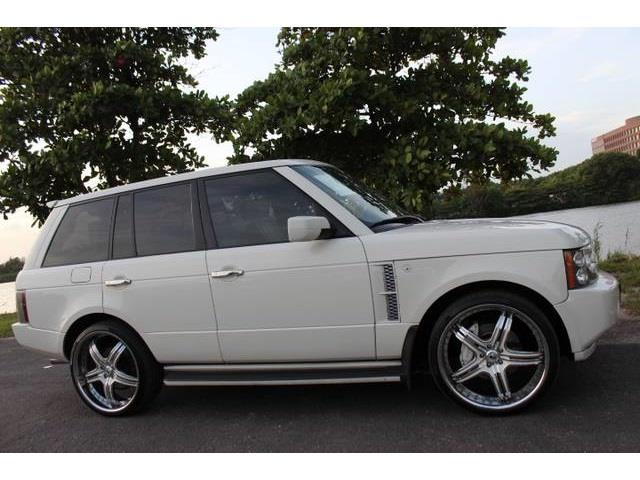2006 LAND ROVER RANGE ROVER SUPERCHARGED 4DR SUV 4WD chawton white this is a beautiful 2006 land r