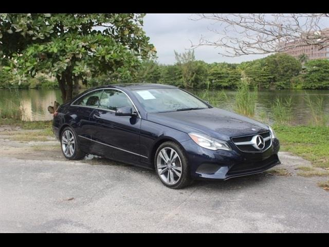 2014 MERCEDES-BENZ E-CLASS E350 2DR COUPE blue miami auto wholesale is a family owned and operated