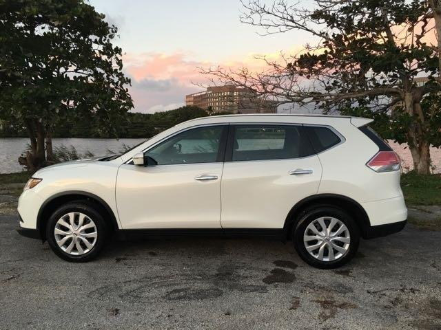 2014 NISSAN ROGUE SV 4DR CROSSOVER white miami auto wholesale is a family owned and operated deale
