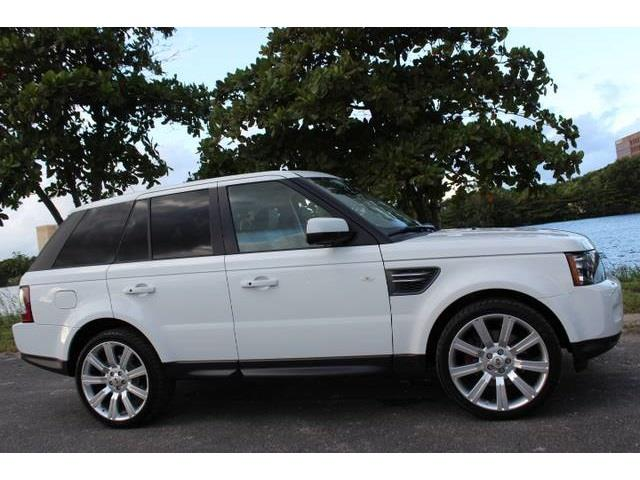 2011 LAND ROVER RANGE ROVER SPORT HSE 4X4 4DR SUV fuji white this is a beautiful 2011 land rover r