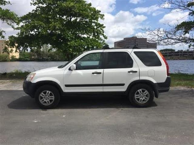 2003 HONDA CR-V EX AWD 4DR SUV white miami auto wholesale is a family owned and operated dealersh