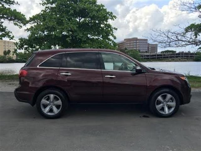 2013 ACURA MDX SH-AWD WTECH 4DR SUV WTECHNOLO maroon good salvage titleused cars  acur