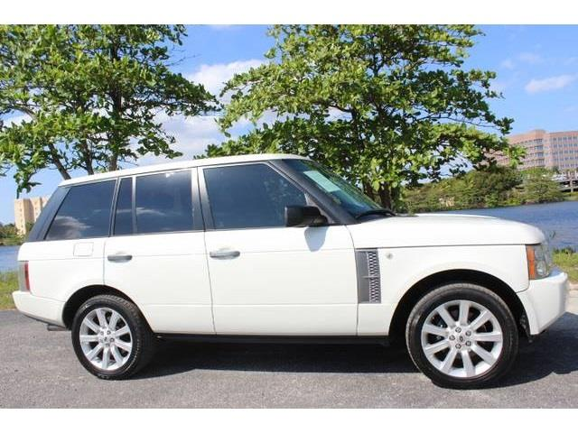 2006 LAND ROVER RANGE ROVER SUPERCHARGED 4DR SUV 4WD white supercharged  no accidents