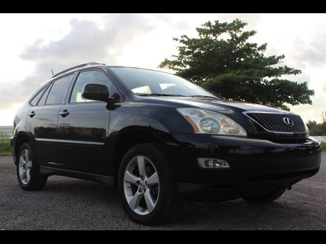 2007 LEXUS RX 350 BASE 4DR SUV black 1 owner always serviced sunroof non-smoker miami
