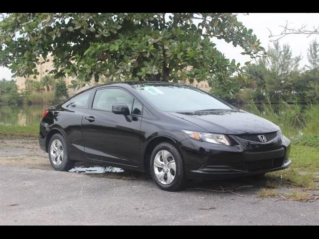 2013 HONDA CIVIC LX 2DR COUPE 5A black miami auto wholesale is a family owned and operated dealer