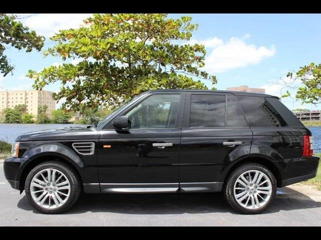 2009 LAND ROVER RANGE ROVER SPORT SUPERCHARGED 4X4 4DR SUV black used cars  landrover rangero