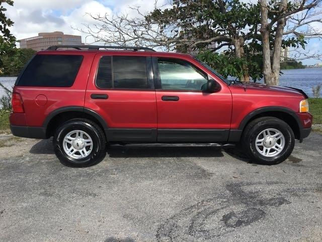 2003 FORD EXPLORER XLT 4DR SUV burgandy miami auto wholesale is a family owned and operated deale