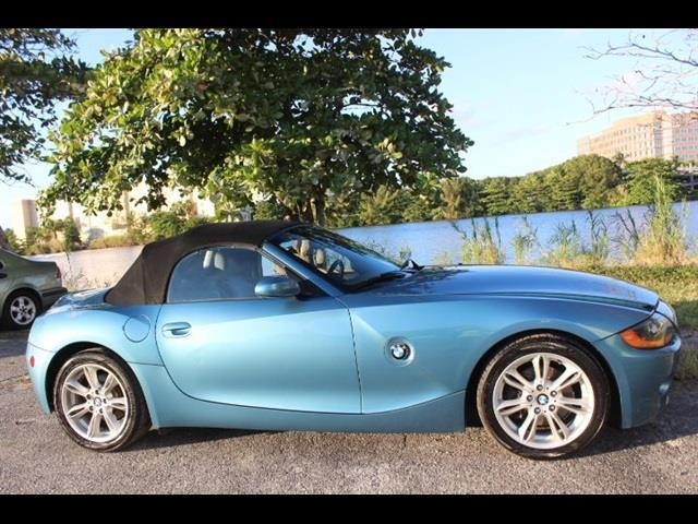 2003 BMW Z4 30I 2DR ROADSTER blue miami auto wholesale is a family owned and operated dealership