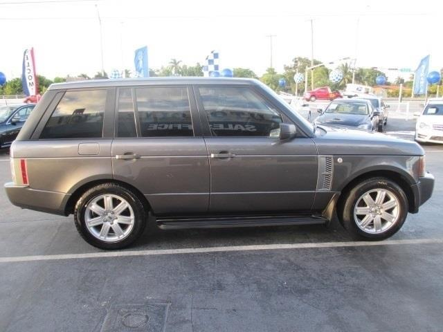 2006 LAND ROVER RANGE ROVER HSE 4DR SUV 4WD grey  no accidents  free clean carfax  jus