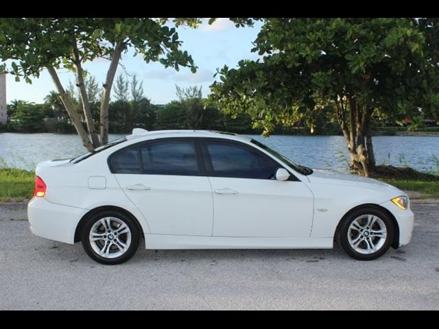 2008 BMW 3 SERIES 328I 4DR SEDAN SA white miami auto wholesale is a family owned and operated dea