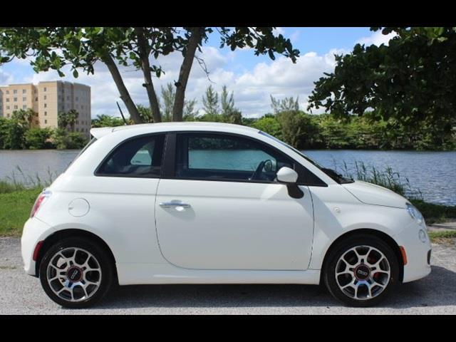 2012 FIAT 500 SPORT 2DR HATCHBACK white miami auto wholesale is a family owned and operated dealer