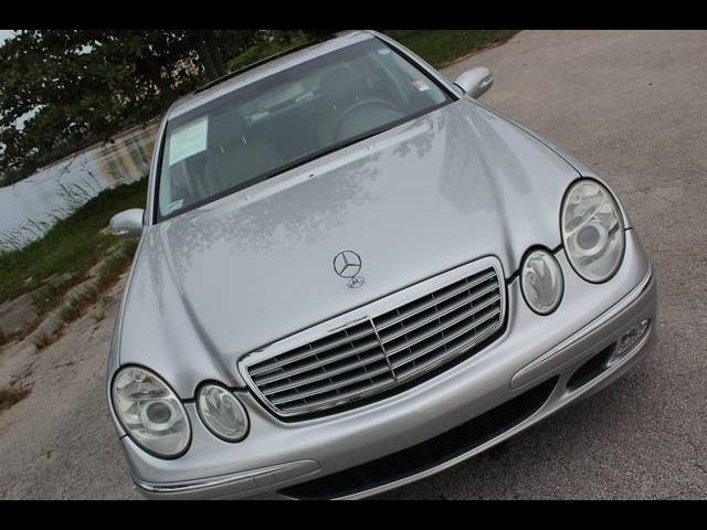 2005 MERCEDES-BENZ E-CLASS E500 4MATIC AWD 4DR SEDAN designo silver metallic miami auto wholesale