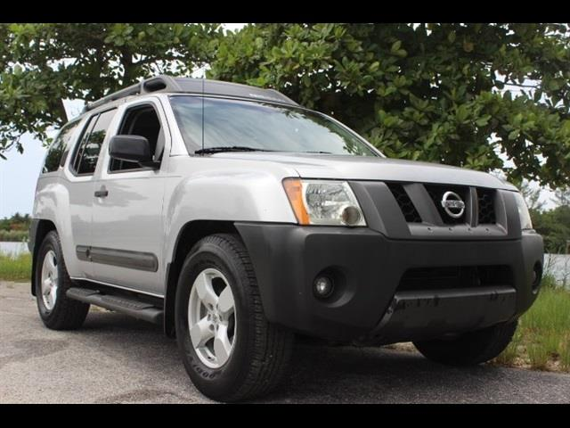 2008 NISSAN XTERRA SE 4X2 4DR SUV 5A silver just serviced no accidents clean carfax miam