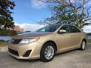 2012 Toyota Camry for sale in Miami, FL