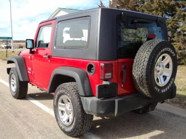 2009 Jeep Wrangler 4x4 X 2dr SUV - Hazard NE