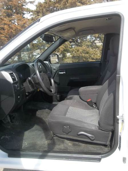2012 Chevrolet Colorado 4x4 Work Truck 2dr Regular Cab - Hazard NE