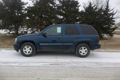 2003 Chevrolet TrailBlazer for sale in Hazard, NE