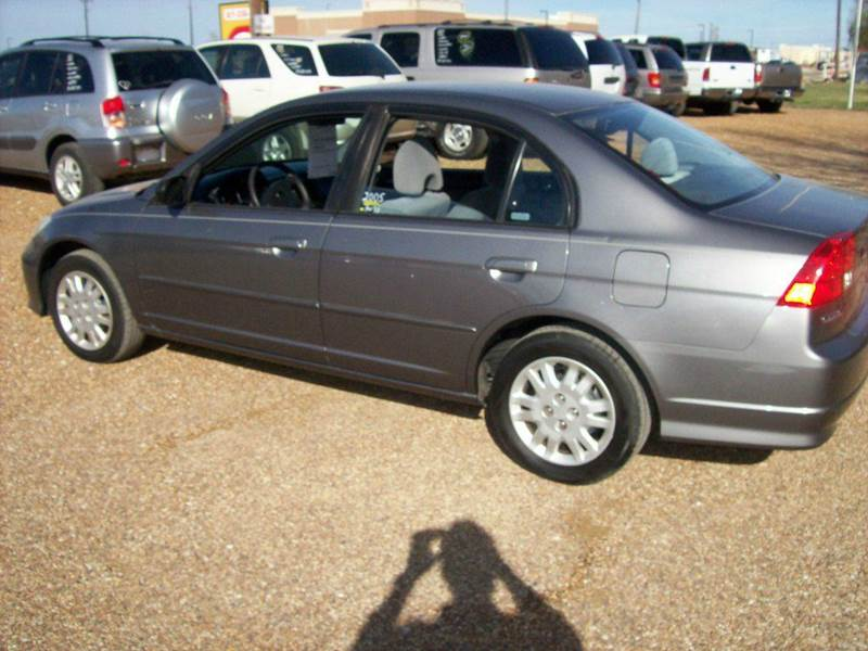 2005 honda civic lx 4dr sedan in fort worth tx auto source for Honda net worth