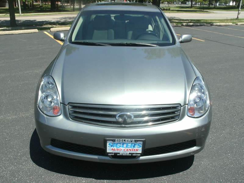 2005 Infiniti G35 AWD x 4dr Sedan - Skokie IL