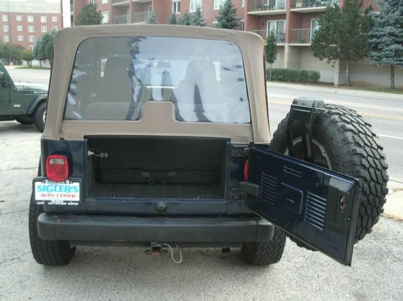 2004 Jeep Wrangler 2dr X 4WD SUV - Skokie IL