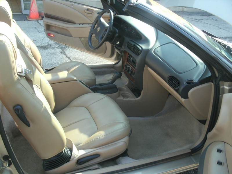 2000 Chrysler Sebring JXi 2dr Convertible - Skokie IL