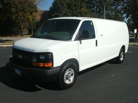 2012 Chevrolet Express Cargo EXTENDED