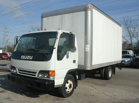 2004 Isuzu NPR HD BOX TRUCK WITH PWR. LIF