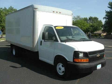 2008 GMC Savana Cutaway