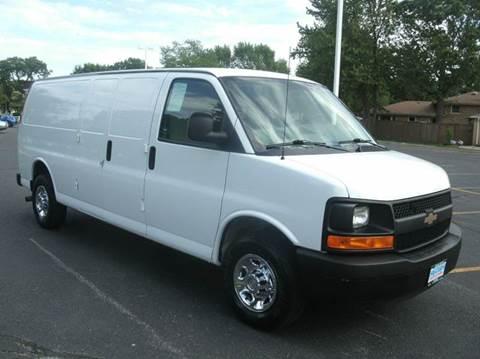 2013 Chevrolet Express Cargo EXTENDED CARGO V