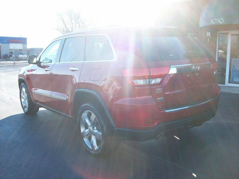 2011 Jeep Grand Cherokee 4x2 Overland 4dr SUV - Muscle Shoals AL