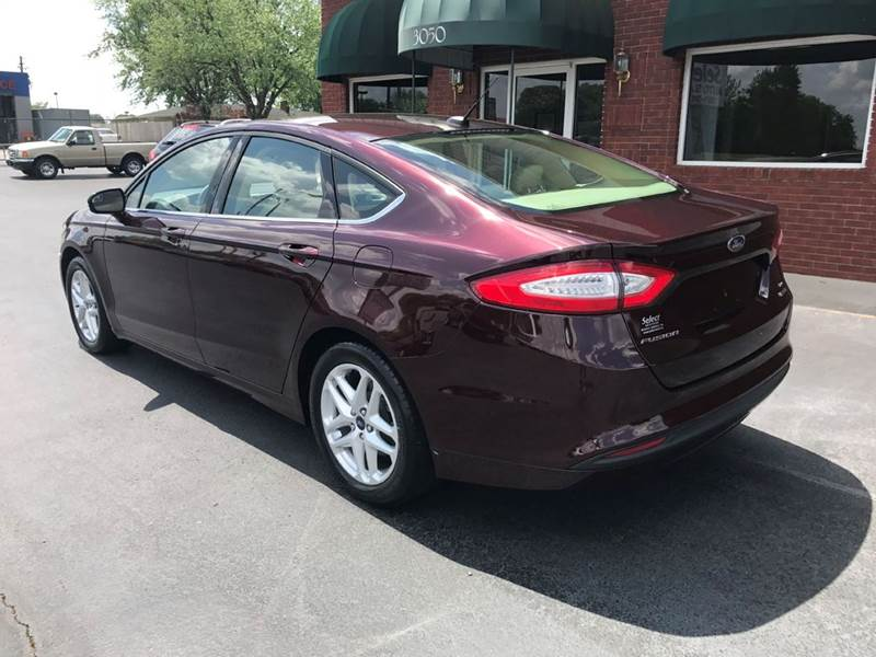 2013 Ford Fusion SE 4dr Sedan - Muscle Shoals AL