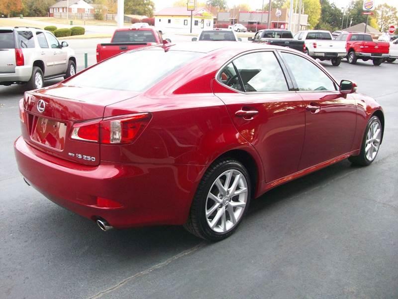 2012 Lexus IS 250 AWD 4dr Sedan - Muscle Shoals AL