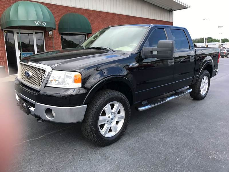2008 Ford F-150 4x4 Lariat 4dr SuperCrew Styleside 5.5 ft. SB - Muscle Shoals AL