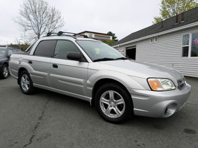 2003 subaru baja awd 4dr sport crew cab sb in somerset ma. Black Bedroom Furniture Sets. Home Design Ideas