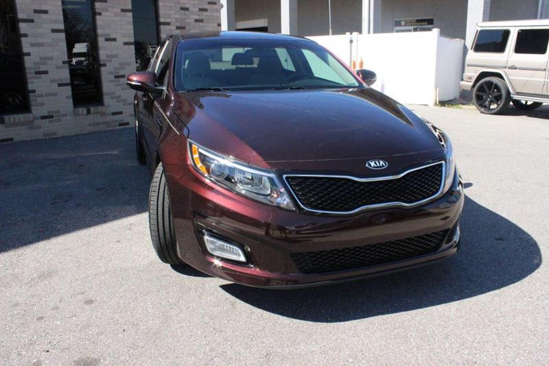 Kia Optima Lx Sedan In Tampa Fl Hi Line Imports