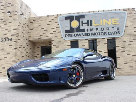2000 Ferrari 360 Modena for sale in Tampa, FL