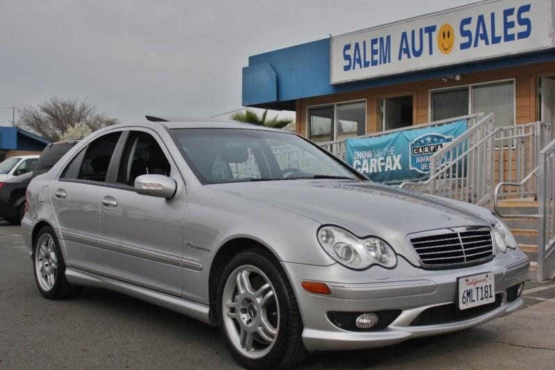 2004 mercedes benz c class c32 amg 4dr sedan in sacramento. Black Bedroom Furniture Sets. Home Design Ideas