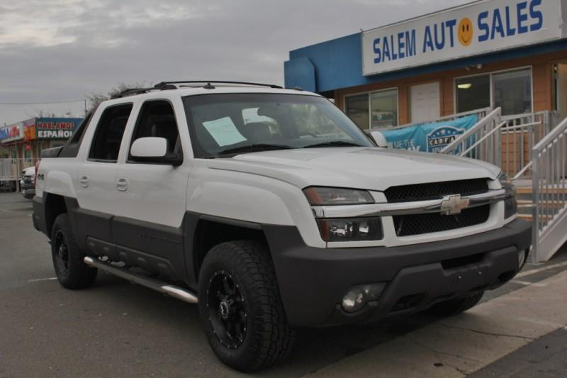 2003 chevrolet avalanche 2500 4dr 4wd crew cab sb in sacramento ca salem auto sales. Black Bedroom Furniture Sets. Home Design Ideas