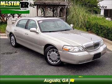 2007 Lincoln Town Car for sale in Augusta, GA