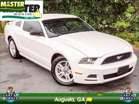 2013 Ford Mustang for sale in Augusta, GA