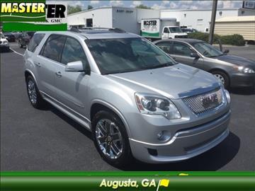 2011 GMC Acadia for sale in Augusta, GA