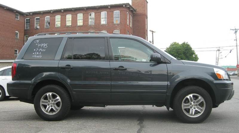 2005 Honda Pilot 4dr EX-L 4WD SUV w/Leather and Navigation System - Lowell MA