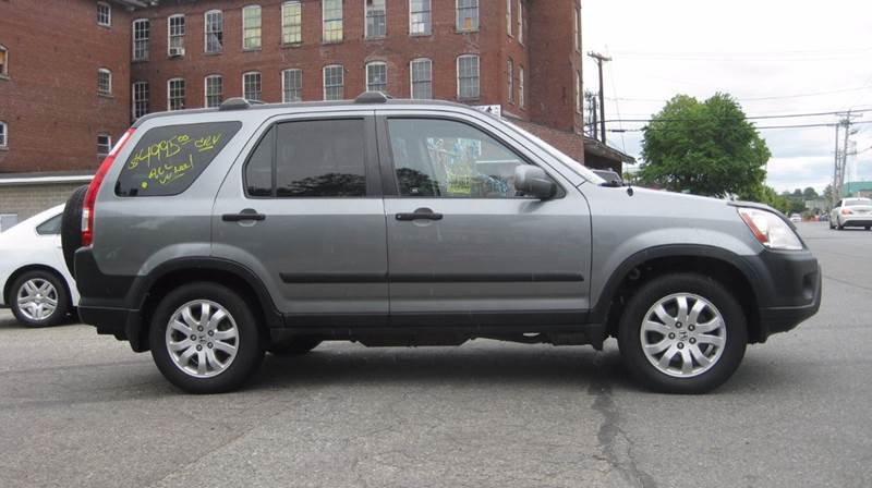 2006 Honda CR-V AWD EX 4dr SUV w/Manual - Lowell MA